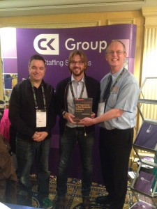 Congratulations to Angelo Tinazzi who won my new book in the Prize Draw at PhUSE in Vienna