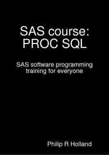Pdf sql training